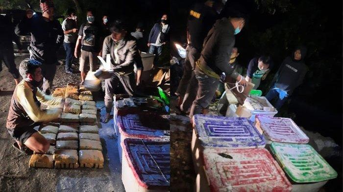 Ganja Seberat 141 Kilogram Dikubur di Gudang Kapur Medan, 5 Tersangka Kini Diamankan
