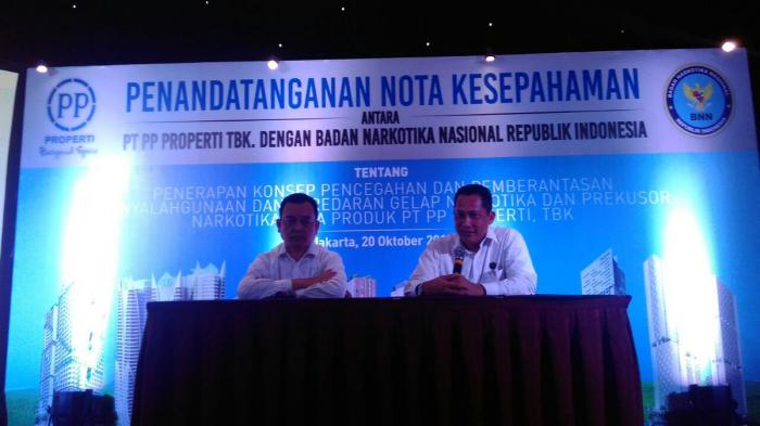 BNN dan PP Properti Wujudkan Apartemen Bebas Dari Narkotika