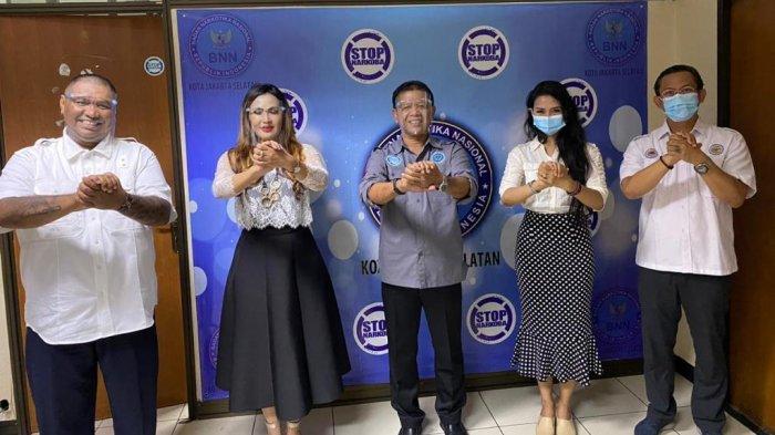 Narkoba: BNNK Jaksel Dapat Dukungan Rumah Kreatif Trangi 9 dan Yayasan Cinta Budaya Indonesia