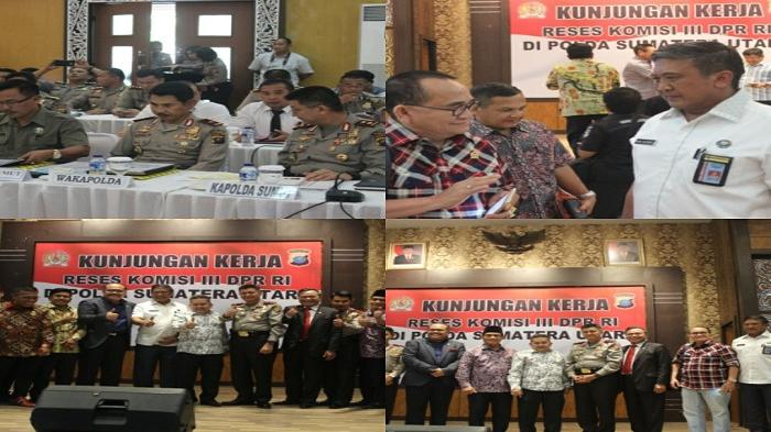 BNNP SUMUT RDP dan Kunjungan Kerja Komisi di Sumut Bersama Komisi III DPR
