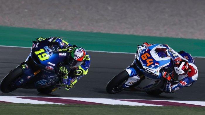 Hasil Moto2 Qatar, Sirkuit Losail Jadi Media Pembelajaran Buat Bo Bendsneyder