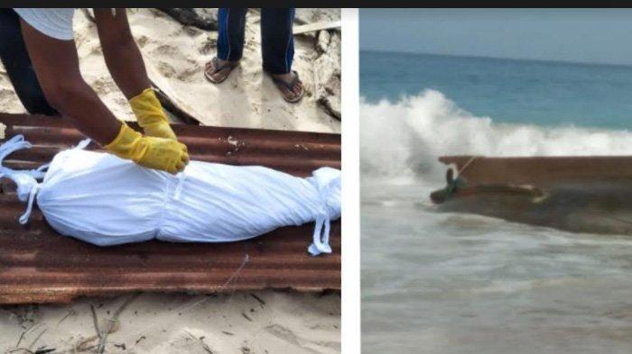 Boat Misterius Terdampar di Pulo Aceh, Ditemukan Mayat Dalam Kondisi Tak Utuh, Diduga dari Thailand