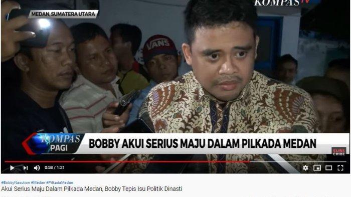 Bobby Nasution bantah isu dinasti politik