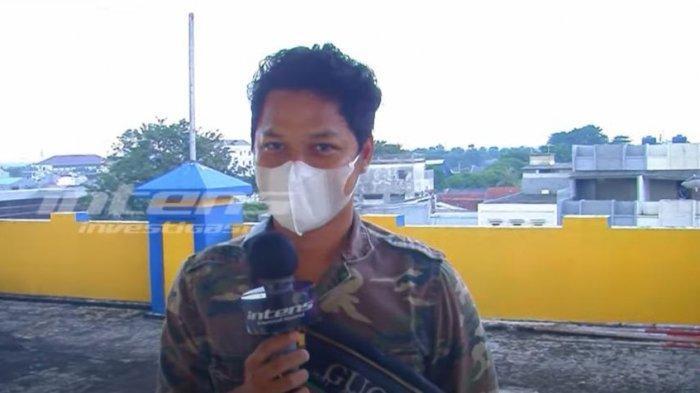Bobby Rahman saat ditemui oleh awak media