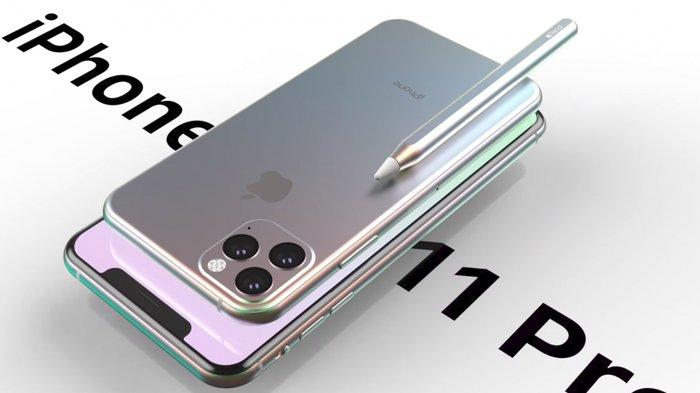 Bocoran iPhone 11 dibekali pencil mirip Stylus.