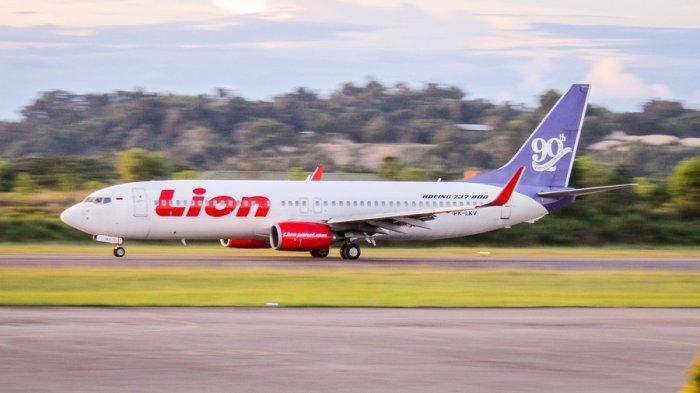 pesawat Boeing 737-800 NG milik Lion Air