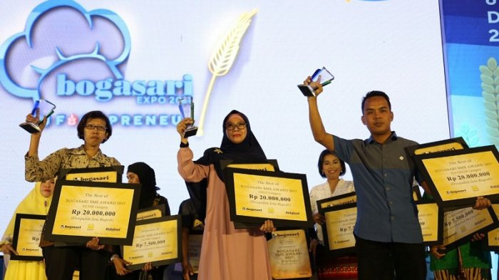 Bogasari Berikan Penghargaan Bogasari SME Award 2017