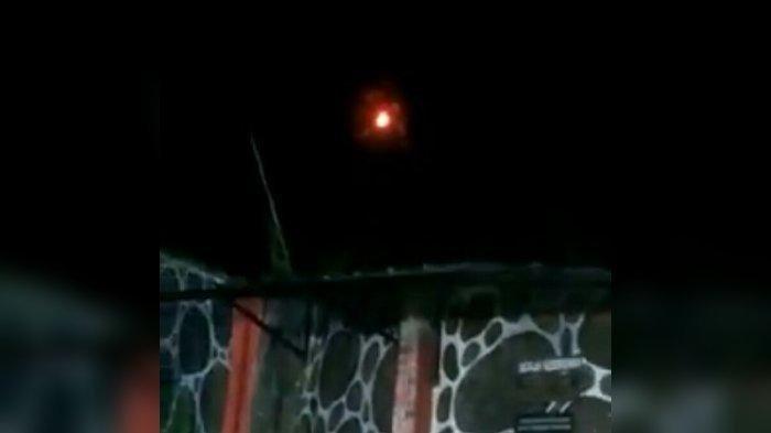 Penampakan Bola Api di Udara Bikin Heboh Warga Sumedang