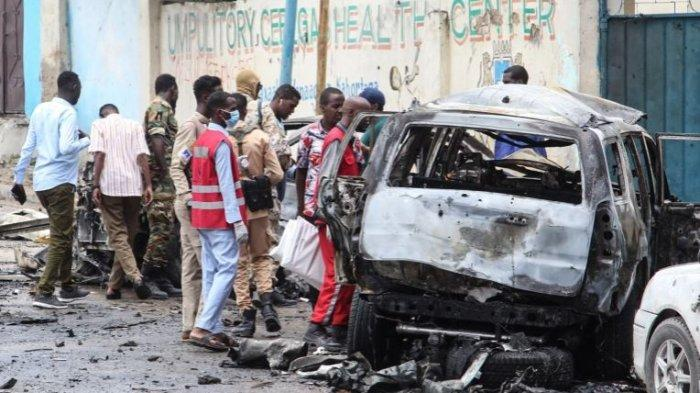 Bom Bunuh Diri Meledak di Ibu Kota Somalia, 8 Orang Tewas