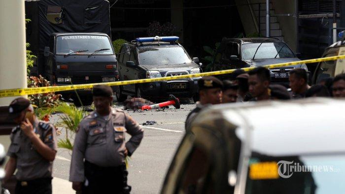 Aktivitas Istri Pelaku Bom Bunuh Diri di Medan Diungkap Polri, hingga Kini 8 Orang telah Ditangkap
