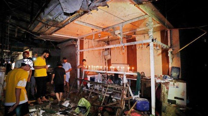 Pengeboman Baghdad: 35 Tewas dalam Serangan di Pasar Irak yang Padat