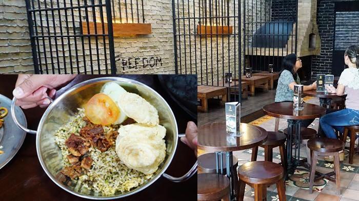 Bong Kopitown, Resto Dengan Suasana Penjara, Pramusajinya Pun Berbaju Narapidana - Tribunnews.com Mobile