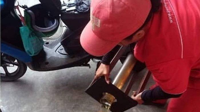 Viral, Driver Ojol di Makassar Kaget Yamaha Mio Diisi BBM Full Tank sampai 7,9 Liter