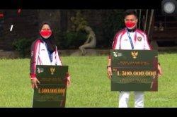 Terima Kepulangan Kontingen Olimpiade, Jokowi Langsung Bagi-bagi Bonus