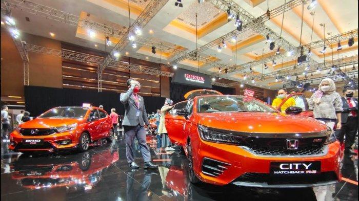 Honda Jual 692 Unit Mobil di IIMS Hybrid 2021