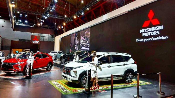 Sampai Hari Kelima Penyelenggaraan IIMS Hybrid 2021, Mitsubishi Kantongi 300 SPK