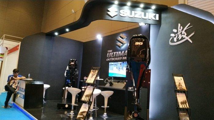 Suzuki Juga Pamerkan Mesin-mesin Tempel untuk Kapal di Telkomsel IIMS 2019