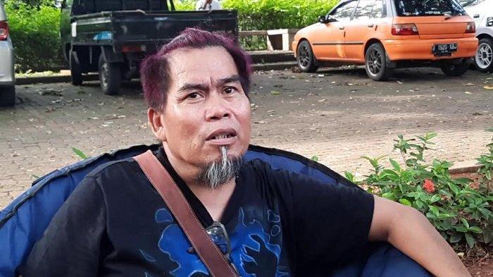 Komedian Bopak Castello saat ditemui di kawasan Jagakarsa, Jakarta Selatan, Selasa (18/5/2021).