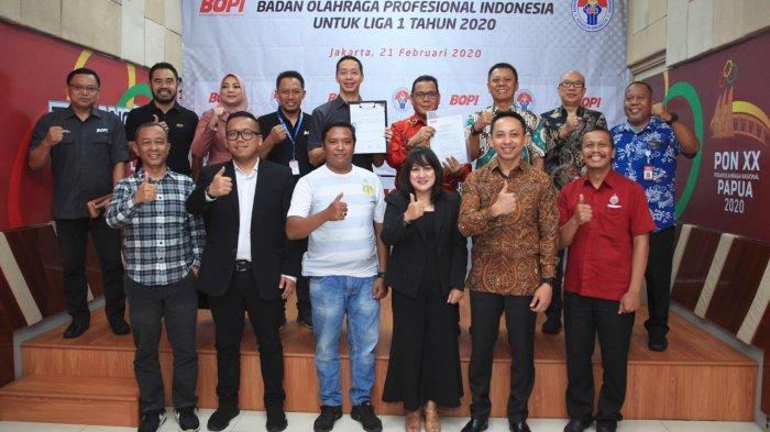 BOPI Resmi Keluarkan izin Liga 1 2020 kepada PT LIB (3)