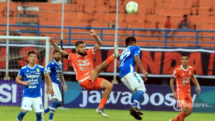 Live Streaming Borneo FC vs Persija Piala Menpora 2021 di Indosiar, Skuat Mario Gomez Pincang