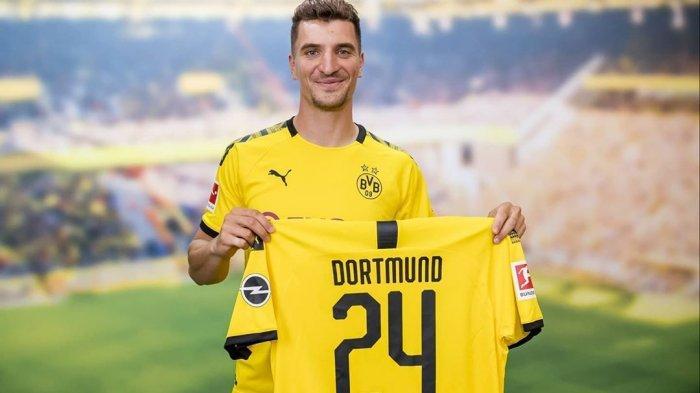 Resmi Ganti Klub, Thomas Meunier Ingin Bawa Dortmund Juara Seperti PSG