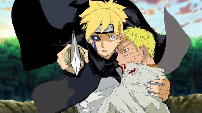 Spoiler Boruto Chapter 52: Tubuh Hokage Naruto 70 Persen Berubah Jadi Seperti Kurama