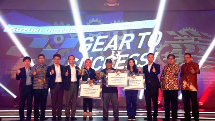 Pasukan Sales Showroom Mobil Diadu dalam Suzuki Victorious Contest