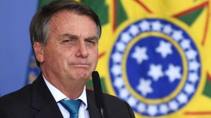 Presiden Brasil Jair Bolsonaro Bosan Ditanyai Jumlah Kematian Akibat Covid-19