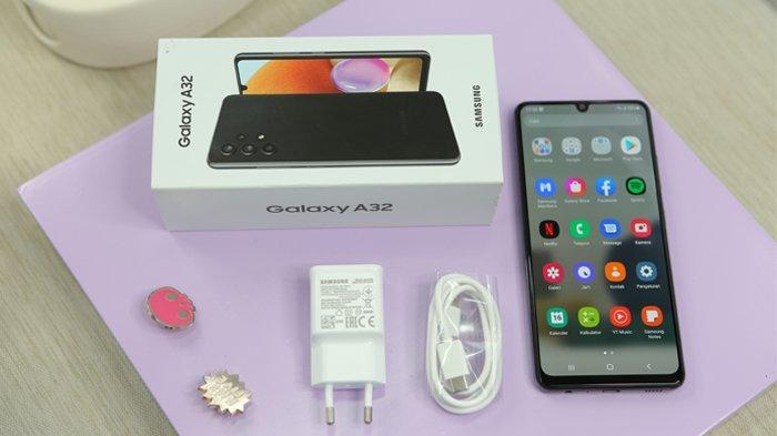 Harga dan Spesifikasi Samsung Galaxy A32, Dijual Rp 3,5 Juta dan Dibekali Kamera 64 MP