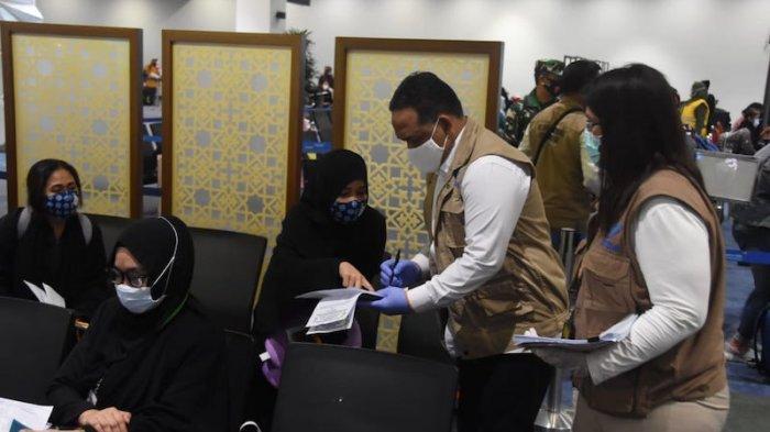 52 PMI Terlantar di Arab Saudi Tiba di Indonesia