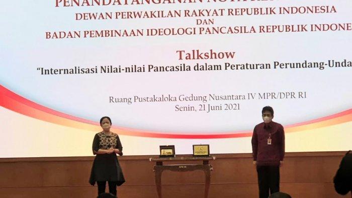 BPIP Teken Nota Kesepahaman dengan DPR RI, Kolaborasi Bumikan Pancasila