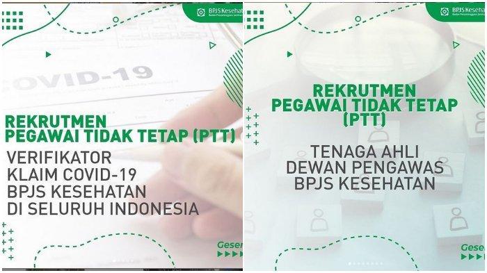 BPJS Kesehatan Buka Lowongan Kerja, Pendaftaran Dibuka hingga 31 Mei 2021