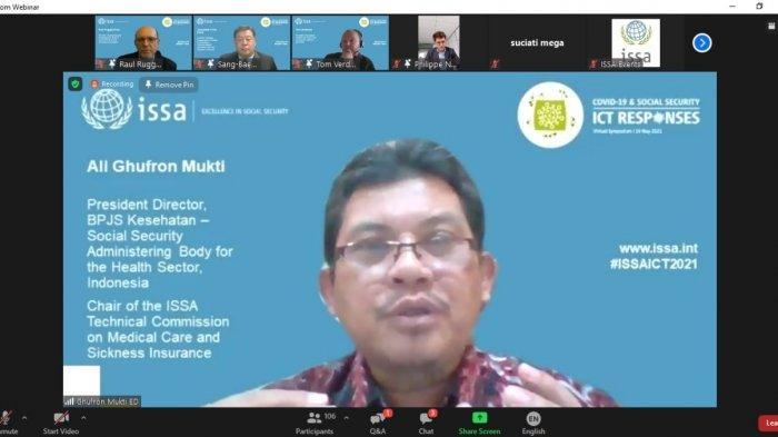BPJS Kesehatan Bahas Peranan Ekosistem Kesehatan Digital di Simposium Internasional
