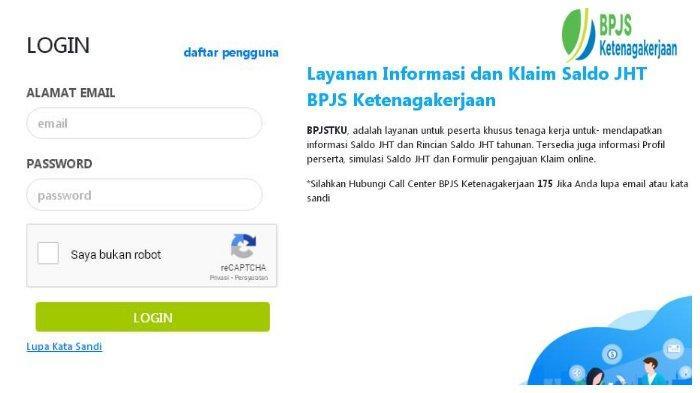 Cara Cek Saldo BPJS Ketenagakerjaan Secara Online atau via SMS 2757