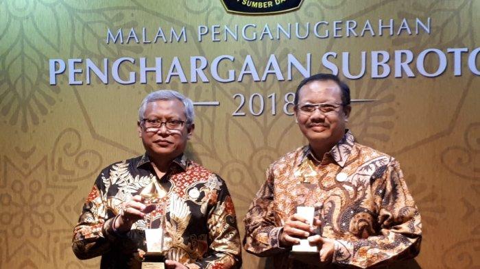 Sukses Terapkan Hemat Energi di Gedung Perkantoran, BPPT DIganjar 2 Penghargaan Subroto