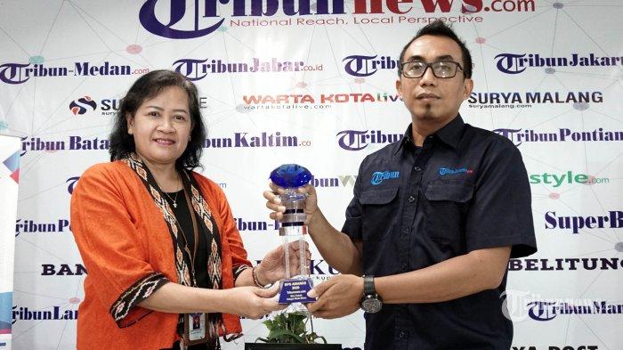 Tribunnews.com Raih Penghargaan Mitra Terbaik Media dari BPS