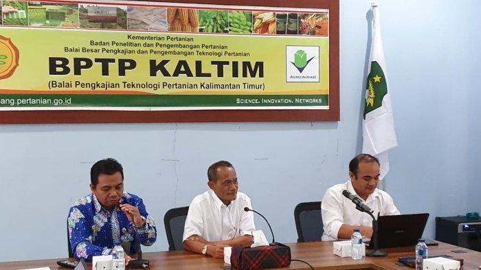 Kawal Pembangunan Pertanian di Kaltim, Kepala BKP Kementan Sinergikan Stakeholder