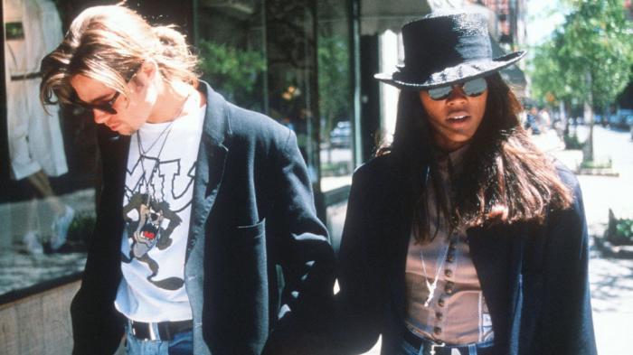 Brad Pitt dan Robin Givens