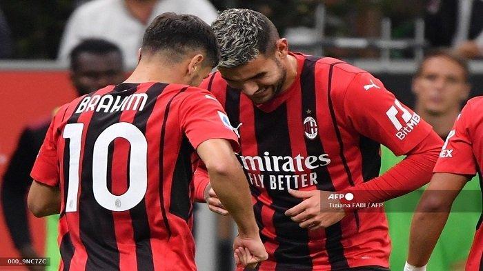 Tarian Duo Madrid Iringi Kemenangan Brilian AC Milan, Theo: Rossoneri Ingin Menang Scudetto