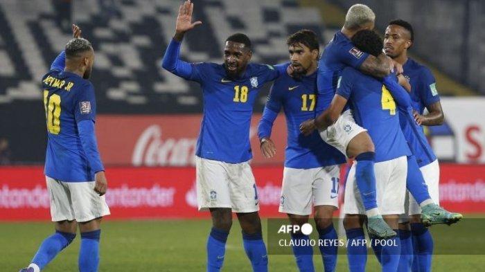 Cile 0-1 Brasil: Selecao Sapu Bersih Kemenangan di Kualifikasi Piala Dunia 2022 Zona CONMEBOL