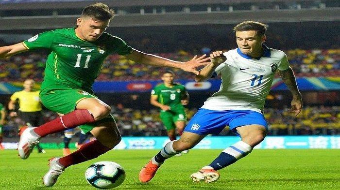 Brasil Vs Bolivia di Copa America 2019, Sabtu (15/6/2019).