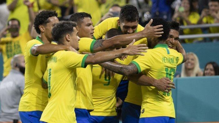 Hasil Babak Pertama Brasil vs Senegal Laga Persahabatan, Skor Sementara 1-1