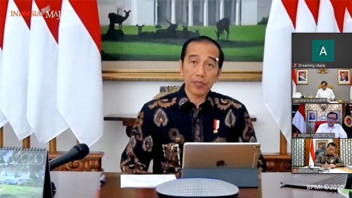 BREAKING NEWS Jokowi Sebut Episentrum COVID-19 Bergeser dari China ke AS dan Eropa