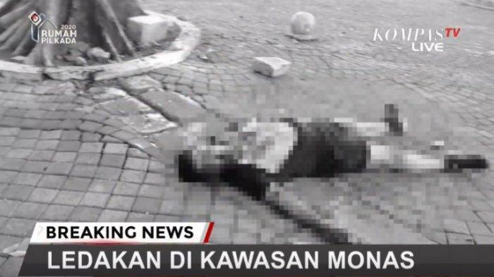 Ledakan di Monas Pagi Ini, Lokasinya di Depan Kantor Tito Karnavian