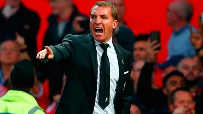 Manchester United vs Liverpool: Brendan Rodgers Kecewa pada Wasit