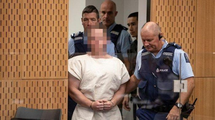 Teroris Penembak Masjid Selandia Baru Kirim Surat Bernada Kebencian dari Balik Penjara
