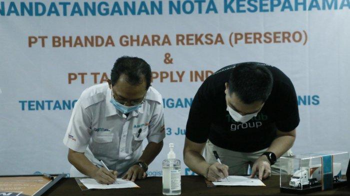 BGR Logistic dan TaniHub Group Sinergi Perkuat Warung Pangan