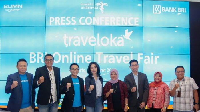 BRI Hadirkan Promo Diskon di Traveloka Lewat BRI Online Travel Fair