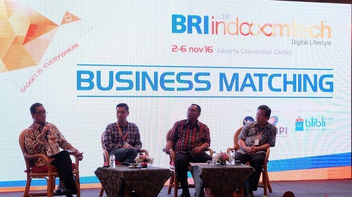 Pertamakalinya, BRI INDOCOMTECH 2016 Hadirkan Program Business Matching