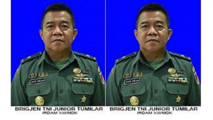 Puspom TNI AD Jelaskan Penyebab <a href='https://manado.tribunnews.com/tag/brigjen-junior-tumilaar' title='BrigjenJuniorTumilaar'>BrigjenJuniorTumilaar</a> Dicopot dari Jabatannya